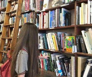 book, read, and hair image