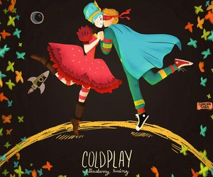 coldplay and strawberry swing image