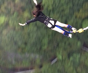 extreme, fly, and bungee image