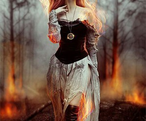 fire and fantasy image