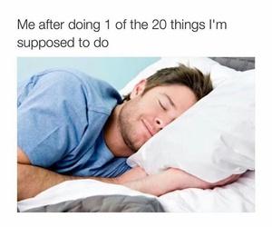 funny and sleeping image