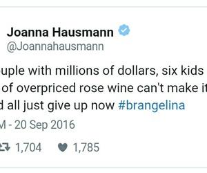 Brangelina, couple, and funny image