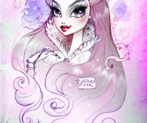 art, raven, and raven queen image