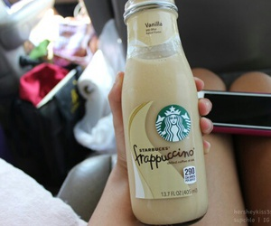 starbucks, frappuccino, and iphone image