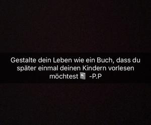 buch, schwarz, and leben image