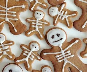 biscuits, food, and Halloween image