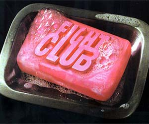 chuck palahniuk, fight club, and soap image