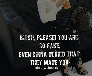 bitch, classy, and cool image