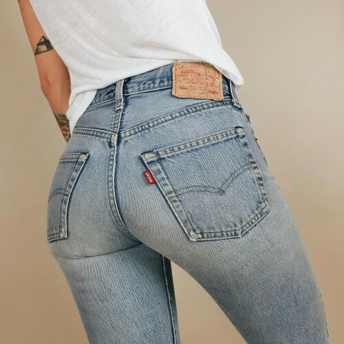booty, levis, and 501 image