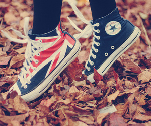 converse, fashion, and red converse image