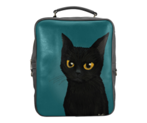 bag, cat, and kitty image