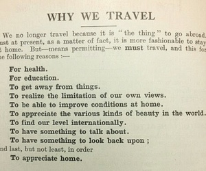 travel, education, and quote image