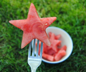 food, red, and summer image