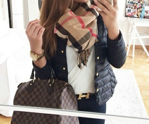 bag, girl, and fashion image