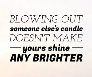 quotes, candle, and inspiration image