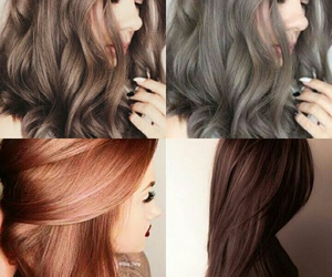 beautiful, red, and haircolor image