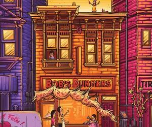 art and bobs burgers image