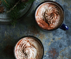 coffee, winter, and drink image