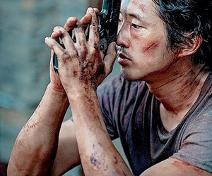 the walking dead, glenn, and twd image