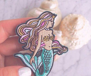 mermaid and patch image