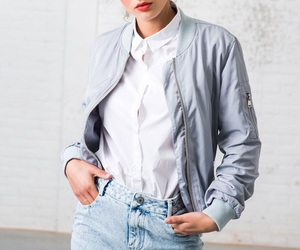 blouse, clothes, and denim image