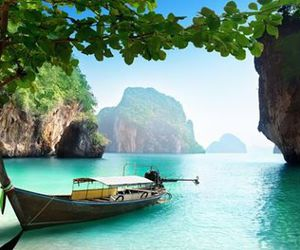 thailand, beach, and paradise image