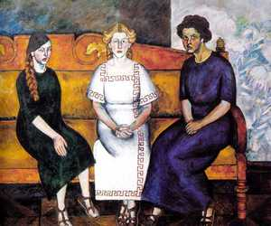 figurative painting, russian artist, and avant-garde painter image