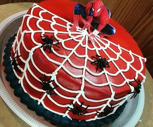 cake, heroes, and Marvel image