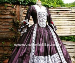 marie antoinette dress, victorian dress, and victorian bustle dress image