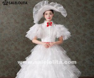 marie antoinette dress and southern bell dress image