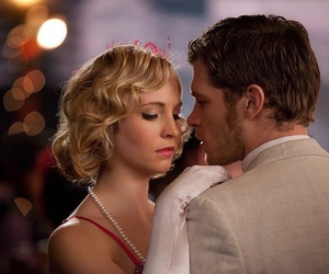 klaroline, the vampire diaries, and klaus image