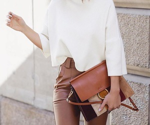 beige, classy, and fashion image