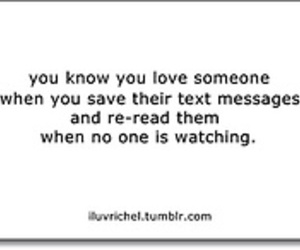 love quotes, text messages, and words image