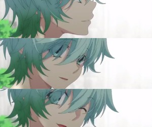 eyes, anime boy, and hatsukoi monster image