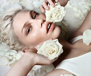 aline weber, beauty, and editorial image