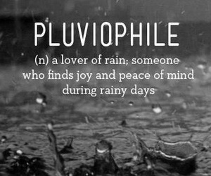 rain, peace, and rainy days image