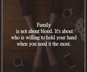 family, quotes, and friendship image
