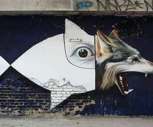 art, graffitti, and wall image