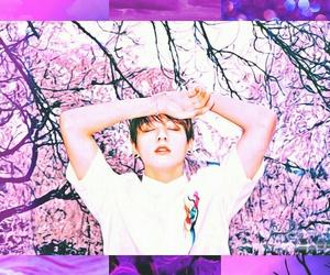 purple, wallpaper, and bangtan boys image
