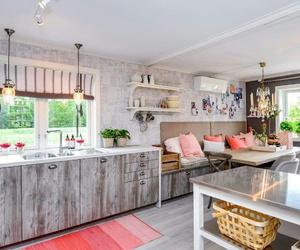 decor, design, and kitchen image