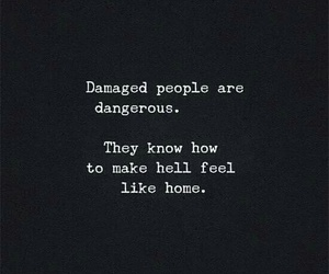 quotes, hell, and home image