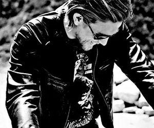 Charlie Hunnam, soa, and motorcycle image