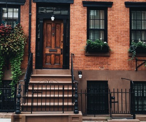 doorstep, nyc, and new york image