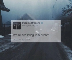 Dream and imagine dragons image