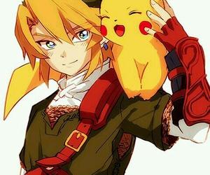 pokemon, link, and pikachu image