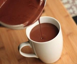 chocolate, autumn, and hot chocolate image