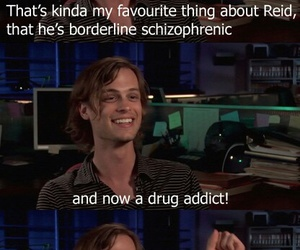 criminal minds, matthew gray gubler, and spencer reid image