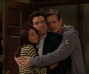 how i met your mother, ted mosby, and marshall eriksen image