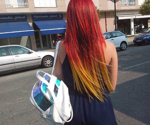 beauty, dye, and dyed hair image