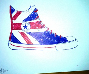 all star, chaussures, and dessin image